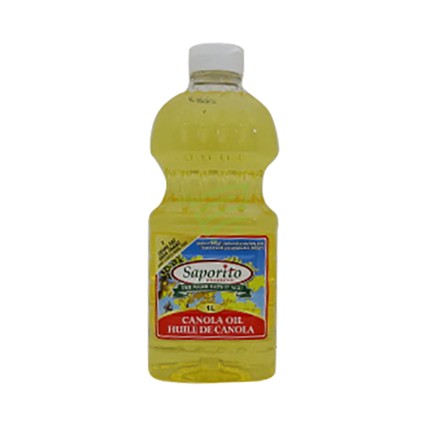 Indian grocery online - Saporito Canola Oil 1L - Cartly