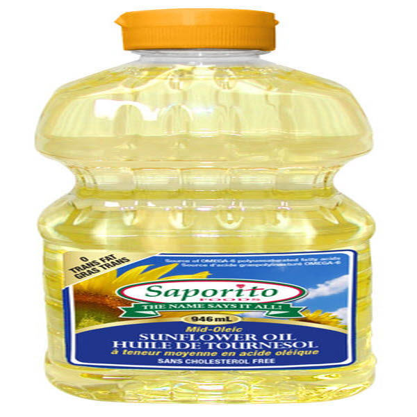 Indian grocery online - Saporito Sunflower Oil 3L - Cartly