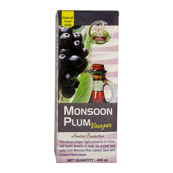 Indian grocery online - Monsoon Plum / Jamun Vinegar 450Ml - Cartly