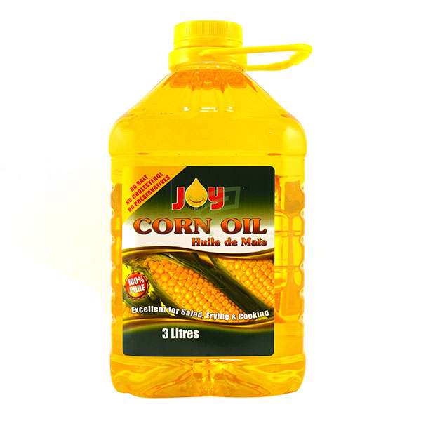 Indian grocery online - Joy Corn Oil 3L - Cartly