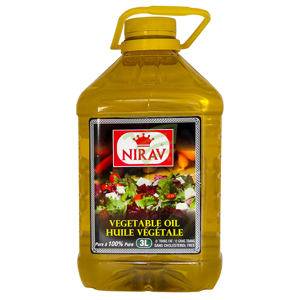 Indian grocery online - Nirav Vegetable Oil 3L - Cartly