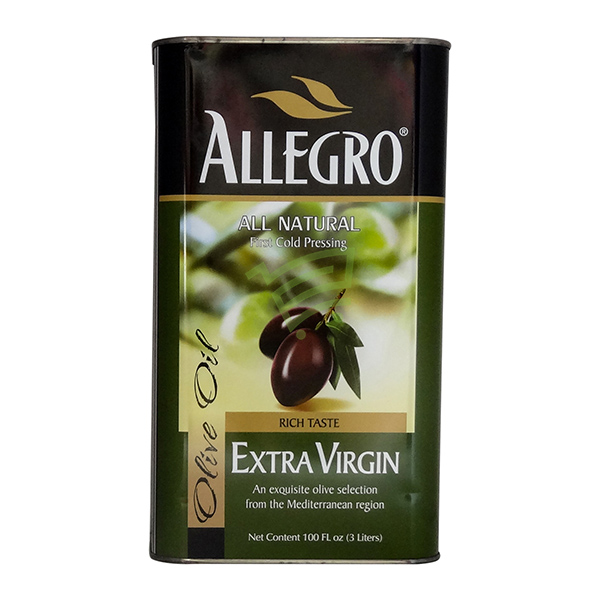 Indian grocery online - Allegro Extra Virgin Olive Oil 3L - Cartly