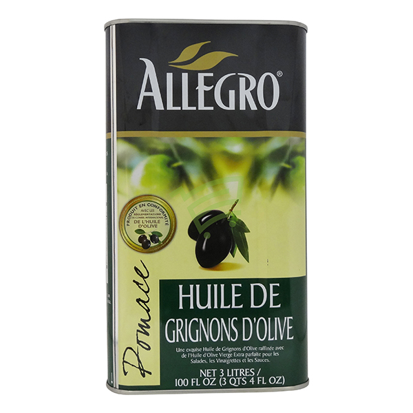 Indian grocery online - Allegro Olive Oil 3L - Cartly