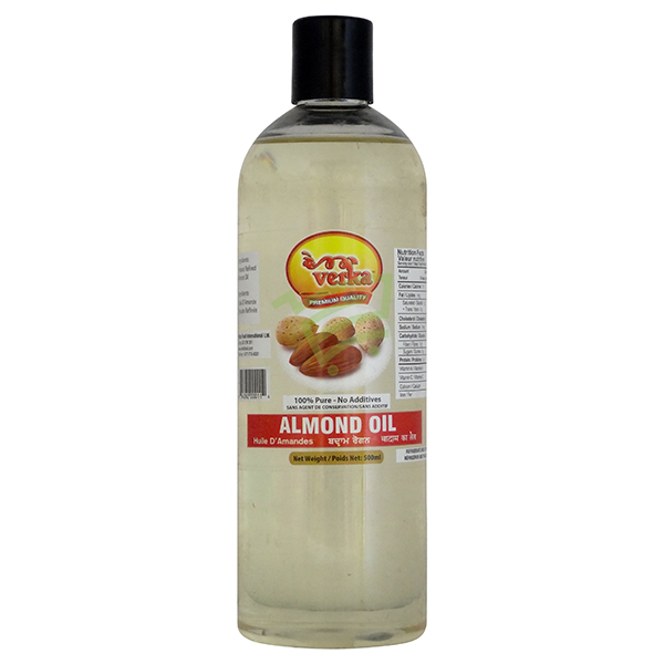 Indian grocery online - Verka Almond Oil 500Ml - Cartly