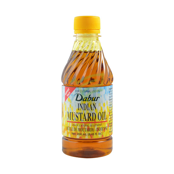 Indian grocery online - Dabur Mustard Oil 250Ml - Cartly