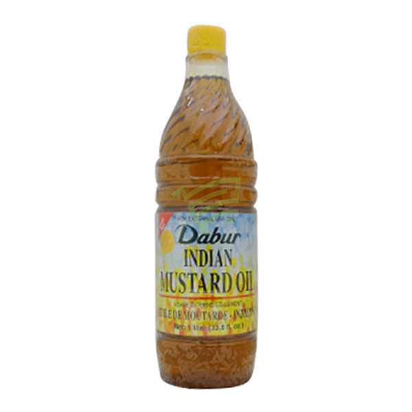 Indian grocery online - Dabur Mustard oil 1L - Cartly