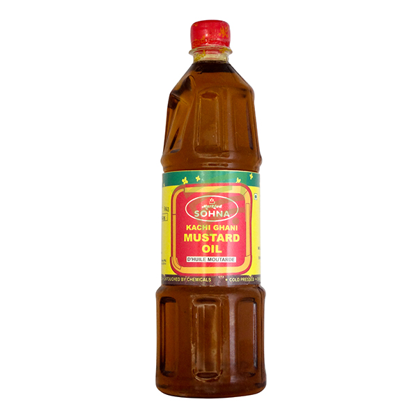 Indian grocery online - Sohna Mustard Oil 1L - Cartly