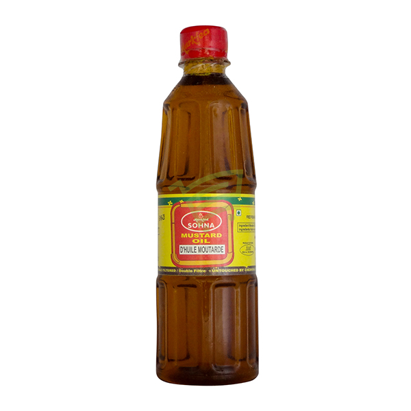 Indian grocery online - Sohna Mustard Oil 500ml - Cartly