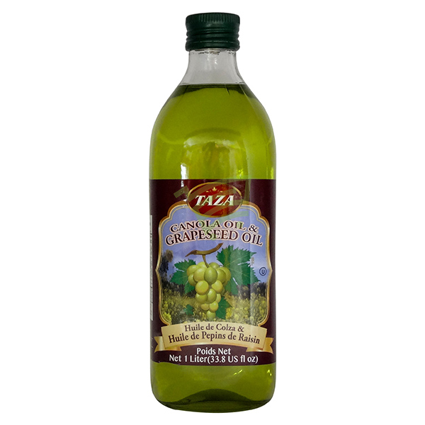 Indian grocery online - Taza Canola & Grapeseed Oil 1L - Cartly