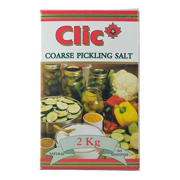 Indian grocery online - Clic Pickling Salt 2Kg - Cartly