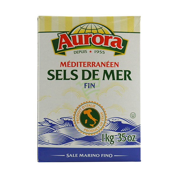 Indian grocery online - Aurora Sea Salt 1Kg - Cartly