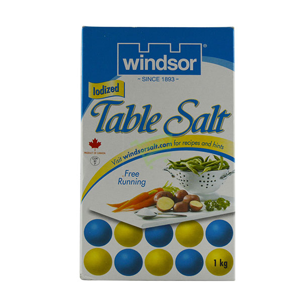 Indian grocery online - Windsor Table Salt 1Kg - Cartly