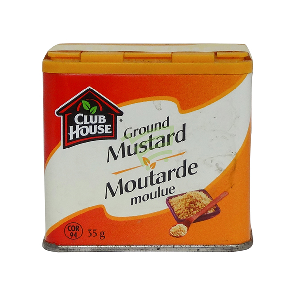 Indian grocery online - Club House Ground Mustard 32G - Cartly