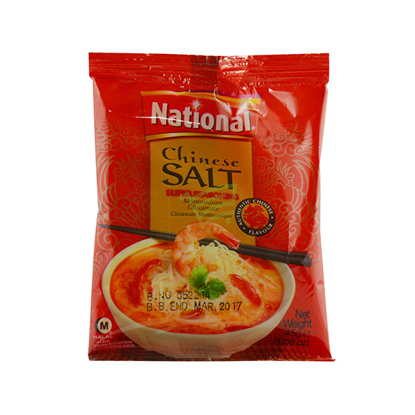 Indian grocery online - National Chinese Salt  45G - Cartly