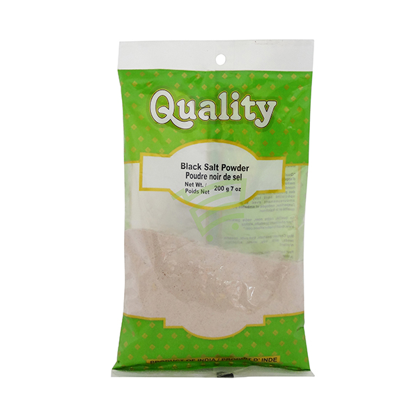 Indian grocery online - Quality Black Salt Powder 200G - Cartly