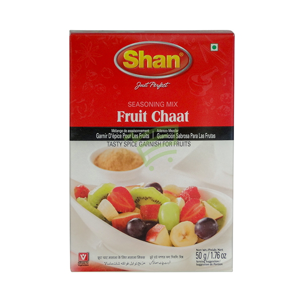 Indian grocery online - Shan Fruit Chaat 60G - Cartly