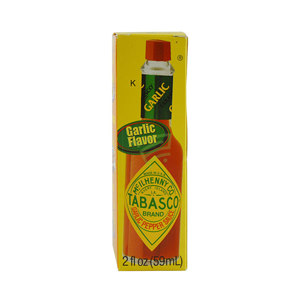 Indian grocery online - Tabasco Garlic Pepper Sauce 59Ml - Cartly