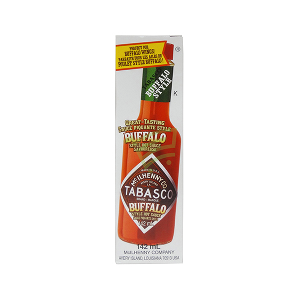 Indian grocery online - Tabasco Buffalo Style Hot Sauce 142Ml - Cartly