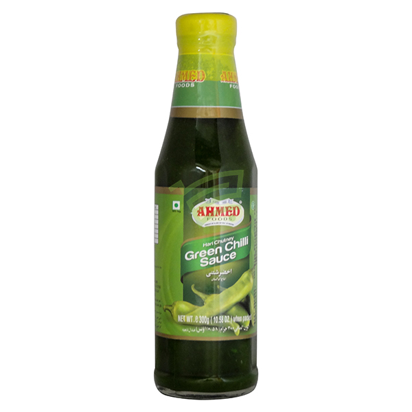 Indian grocery online - Ahmed Green Chilli Sauce 300G - Cartly