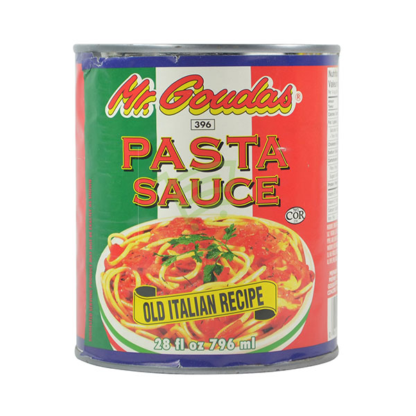 Indian grocery online - Mr.Goudas Pasta Sauce 796Ml - Cartly