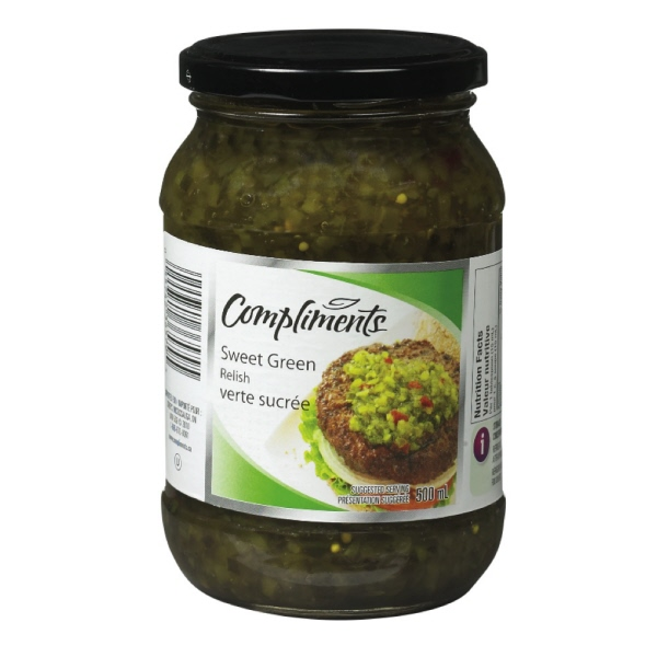 Indian grocery online - Coronation sweet green Relish 500ml - Cartly