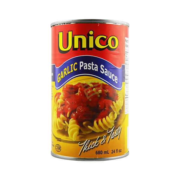 Indian grocery online - Unico Pasta Sauce Garlic 680Ml - Cartly