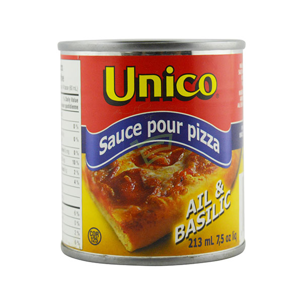 Indian grocery online - Unico Pizza Sauce Ail&Basilic 213Ml - Cartly