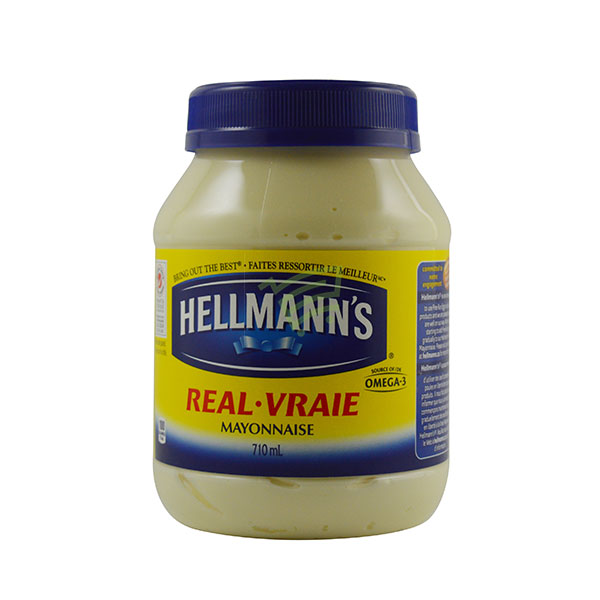 Indian grocery online - Hellmann's Real Mayonnaise 710Ml - Cartly