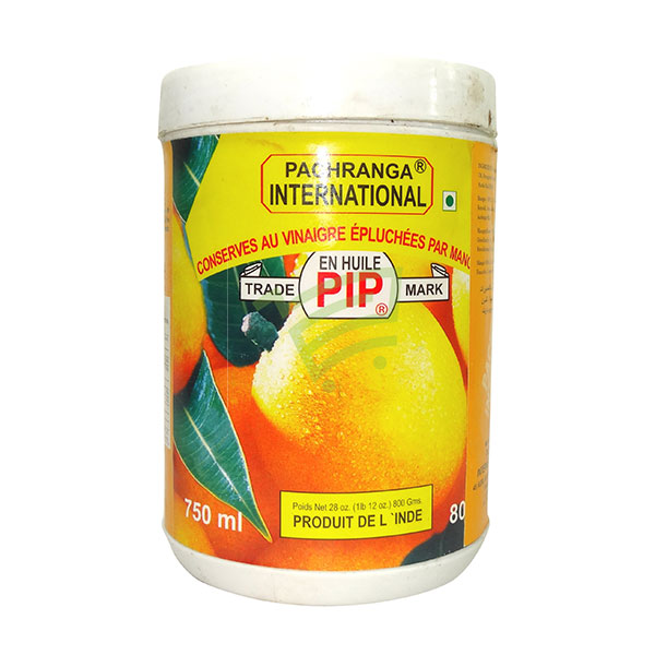 Indian grocery online - Pachranga Mango Peeled Jar 750Ml - Cartly
