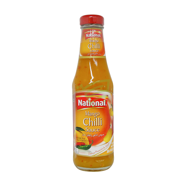 Indian grocery online - National Mango Chilli Sauce 300G - Cartly