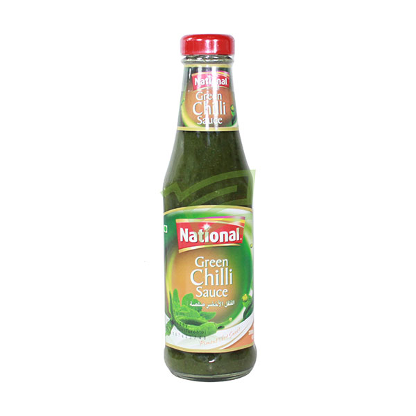 Indian grocery online - National Green Chilli Sauce - Cartly