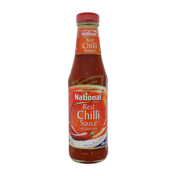 Indian grocery online - National Red Chilli Sauce 300G - Cartly