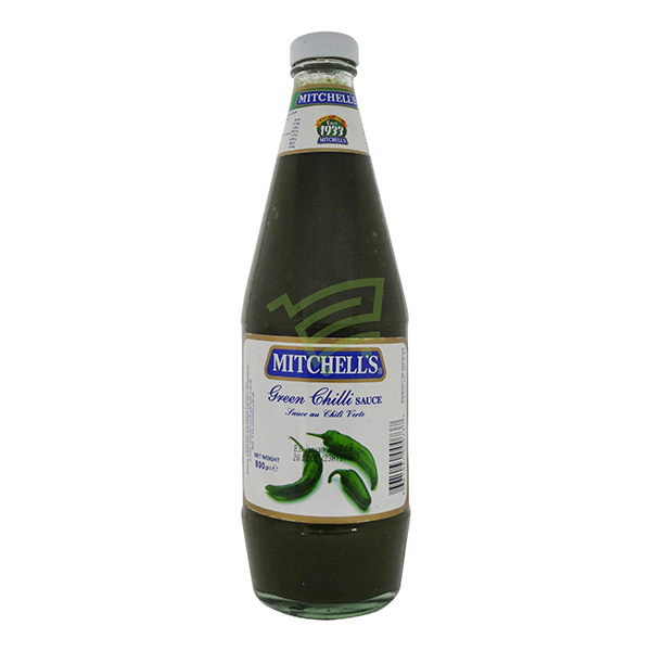 Indian grocery online - Mitchell's Green Chilli Sauce 800G - Cartly