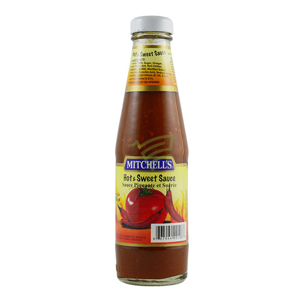 Indian grocery online - Mitchell's Hot & Sweet Sauce 300G - Cartly
