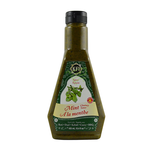 Indian grocery online - KFI Mint Spicy Chutney 455Ml - Cartly