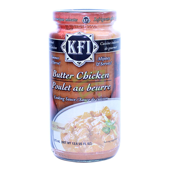 Indian grocery online - KFI Butter Chicken Sauce 375Ml - Cartly