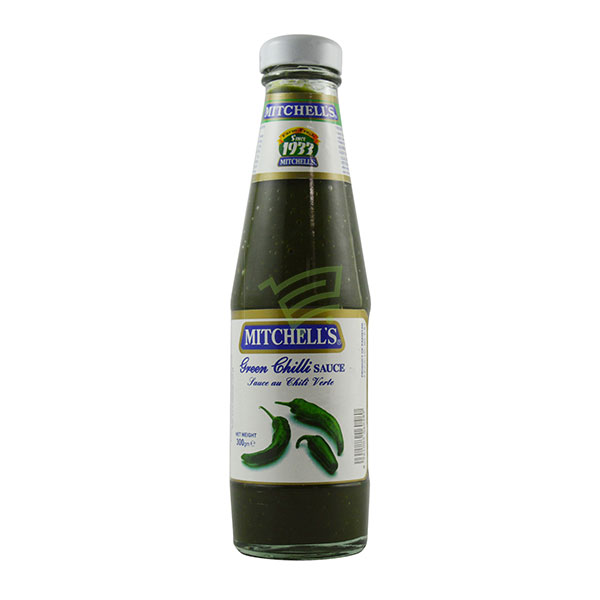 Indian grocery online - Mitchell's Green Chilli Sauce 300G - Cartly