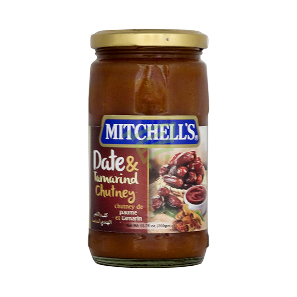 Indian grocery online - Mitchell's Date & Tamarind Chutney 390G - Cartly