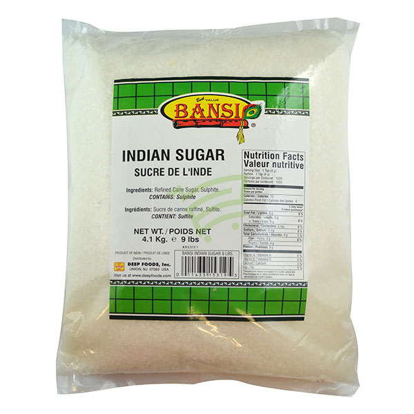 Indian grocery online - Bansi Indian Sugar 9lb - Cartly