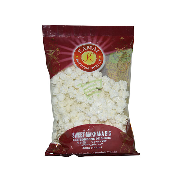 Indian grocery online - Kamal Sweet Makhana Big 400G - Cartly