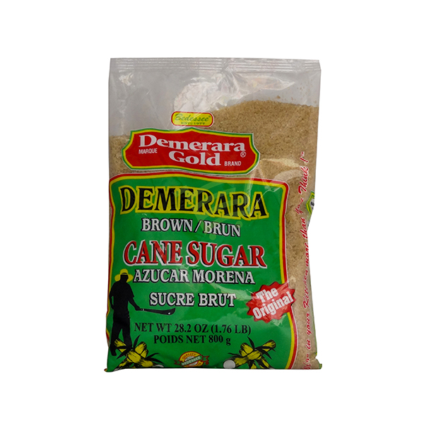 Indian grocery online - Demerara Gold Cane Sugar 800G - Cartly