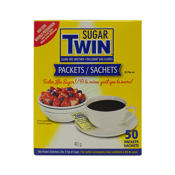 Indian grocery online - Sugar Twin 50 Packets 40G - Cartly