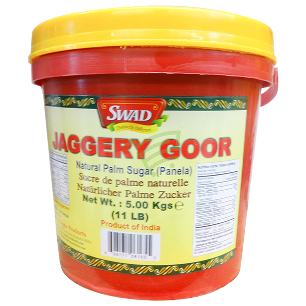 Indian grocery online - Swad Jaggery Goor 5Kg - Cartly