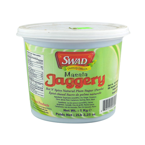 Indian grocery online - Swad Masala Gur Jaggery - Cartly