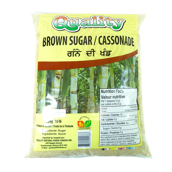 Indian grocery online - Quality Brown Sugar 10lb - Cartly