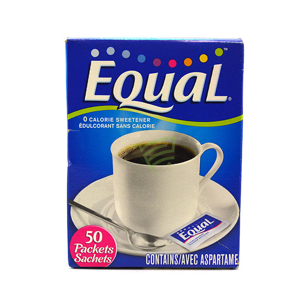 Indian grocery online - Equal Zero Calorie Sweetener 50 X 1G - Cartly