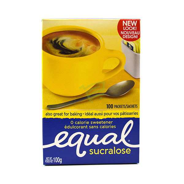 Indian grocery online - Equal Zero Calorie Sweetener 100 X 1G - Cartly