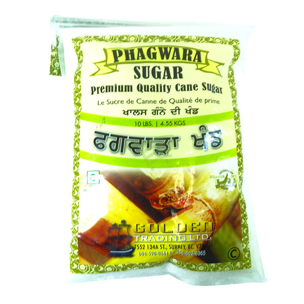 Indian grocery online - Phagwara Cane Sugar 10lb - Cartly