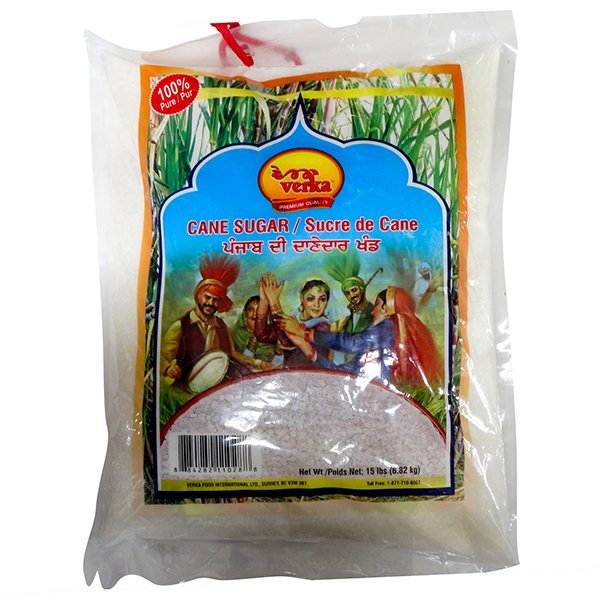 Indian grocery online - Verka Cane Sugar 15lb - Cartly