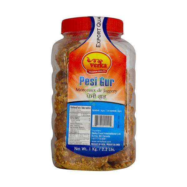 Indian grocery online - Verka Pesi Gur 1Kg - Cartly